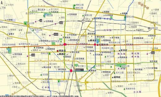 石家庄地铁规划线路图展示