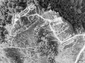 记者探访平山侵华日军碉堡群 侵华铁证不容否认(组图)